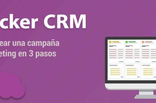Cómo crear una campaña de marketing con Tracker CRM