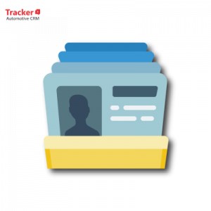 Tracker CRM | Business Card