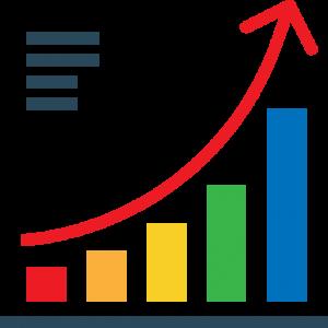 Conos de venta y marketing con Tracker CRM
